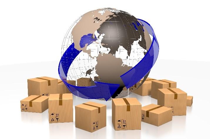 Photo de la livraison dans le monde